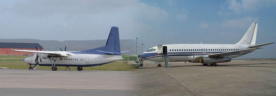 Purchase, upgrade/retrofit, lease or sale of aircraft
